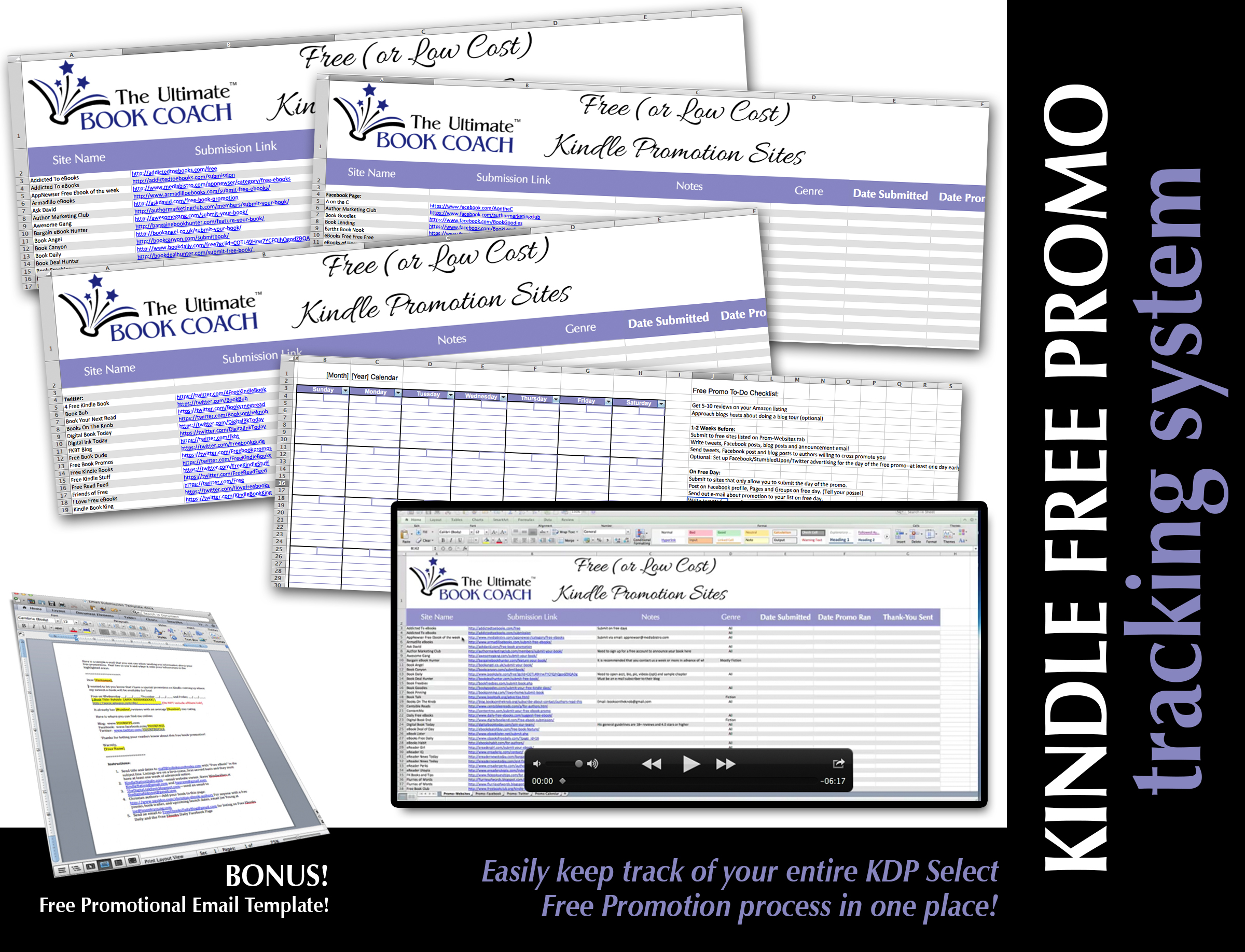 KDP-Free-Promo-Tracking-System