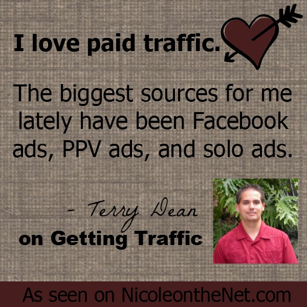 Getting Traffic - Terry Dean