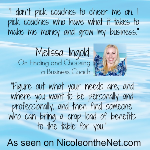 How to Find and Choose a Business Coach - Melissa
