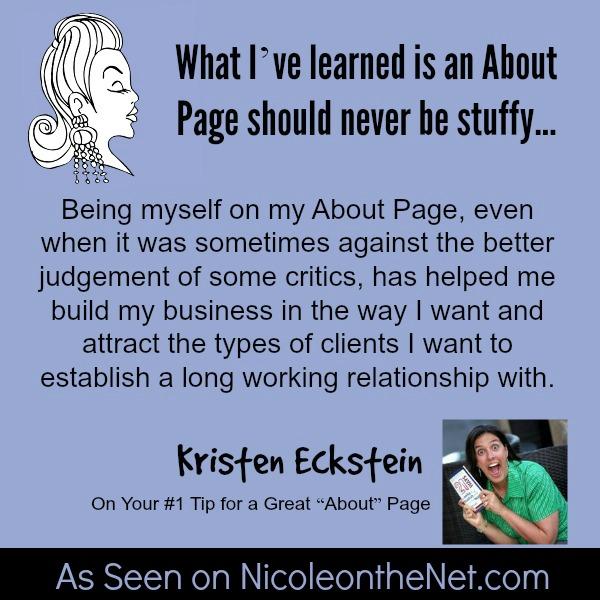 About Page - Kristen Eckstein - 060914