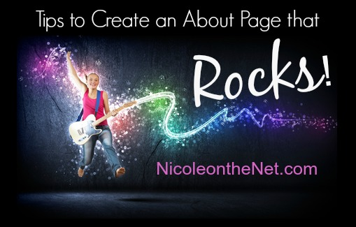 Tips to Create an About Page that Rocks!