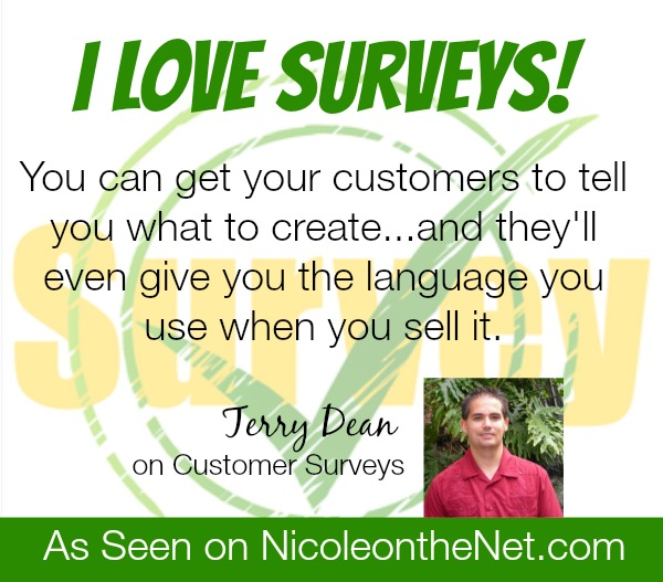 Do your survey your customers